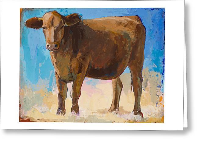 People Like Cows #1 Greeting Card