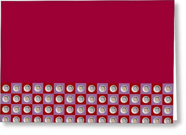 Pepita 6x16 Collage 1 Greeting Card