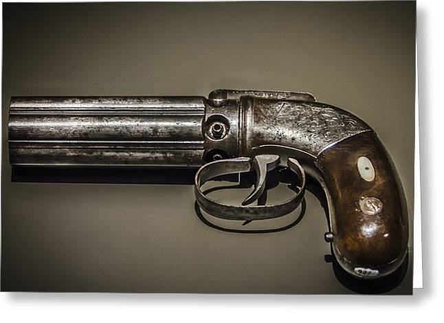 Pepper Box Revolver Greeting Card