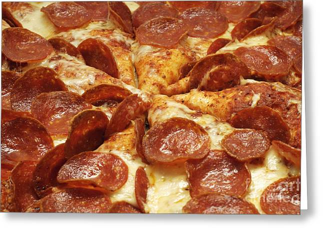 Pepperoni Pizza 1 Greeting Card