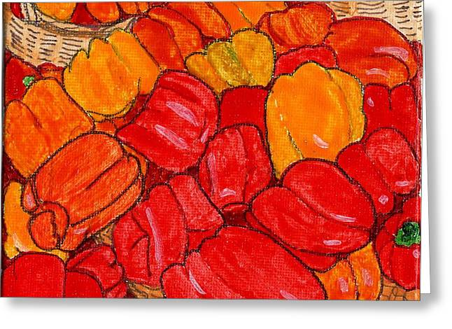Peppers Galore Greeting Card