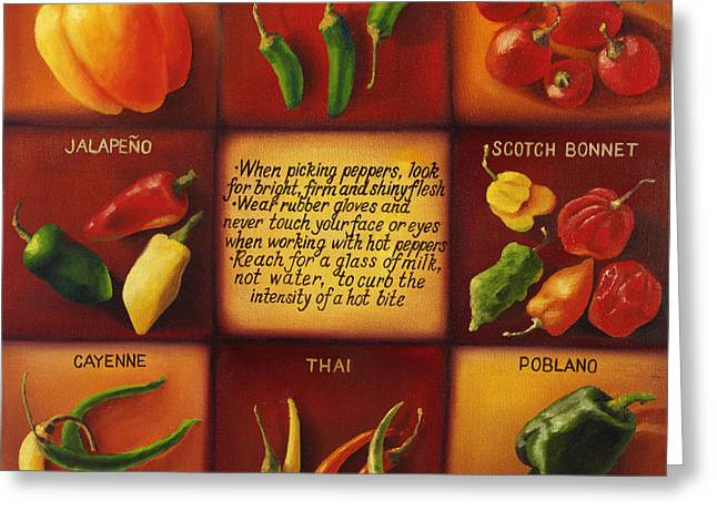 Pepper Facts  Greeting Card