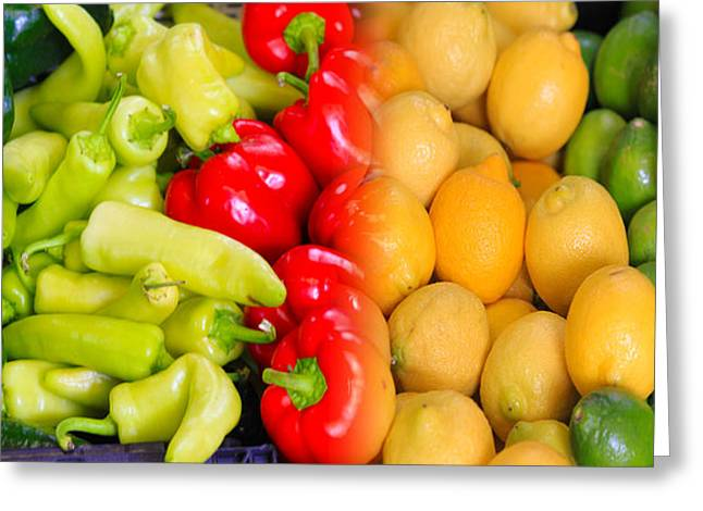 Peppers To Pucker Greeting Card