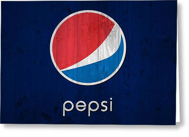 Pepsi Barn Sign Greeting Card by Dan Sproul