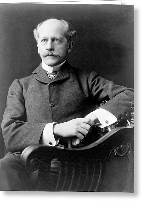 Percival Lowell Greeting Card