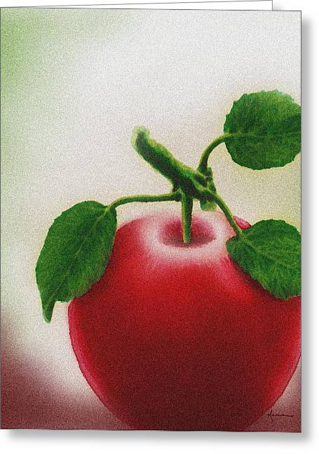 Perfect Apple Greeting Card