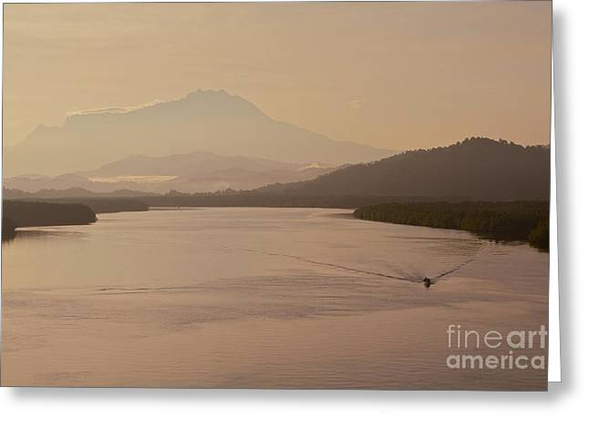 Greeting Card featuring the photograph Perfect Dawn  by Gary Bridger