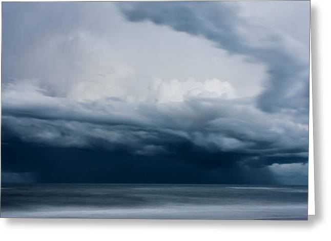 Perfect Storm Greeting Card by Matt Dobson