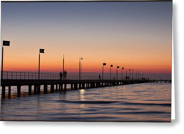Greeting Card featuring the photograph Perfect Sunset by Kim Andelkovic