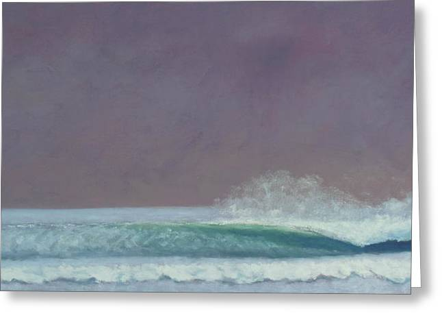 Perfect Wave Greeting Card by Kent Pace