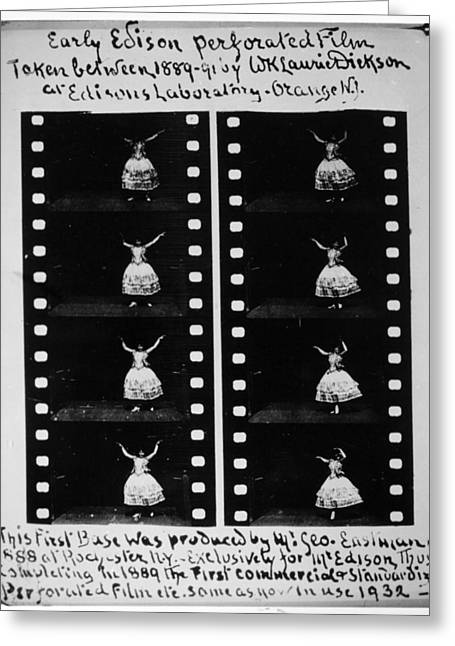 Perforated Film, 1888 Greeting Card