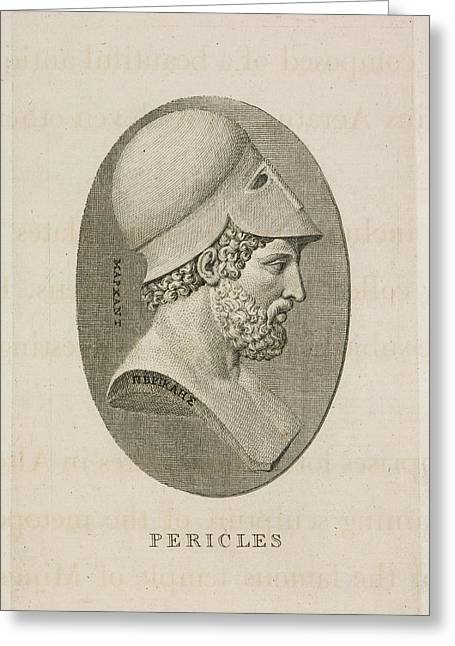 Pericles Greeting Card by British Library