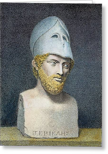 Pericles (c495-429 B Greeting Card by Granger