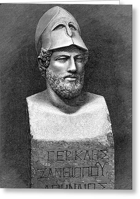 Pericles Greeting Card by Collection Abecasis