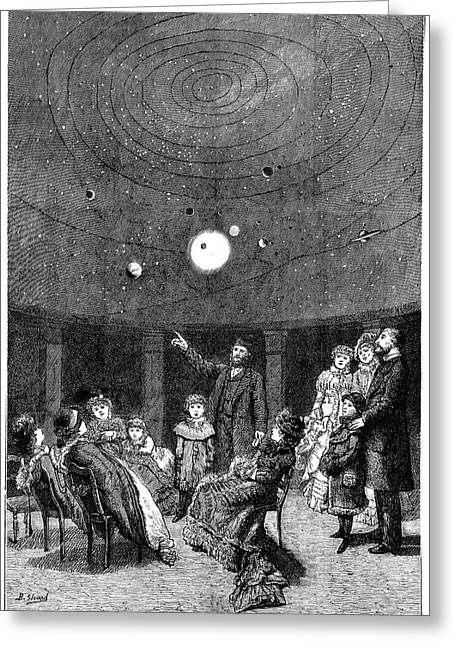Perini's Planetarium Greeting Card