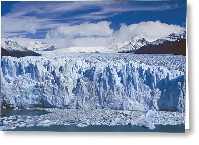 Perito Moreno Glacier Argentina Greeting Card by Rudi Prott