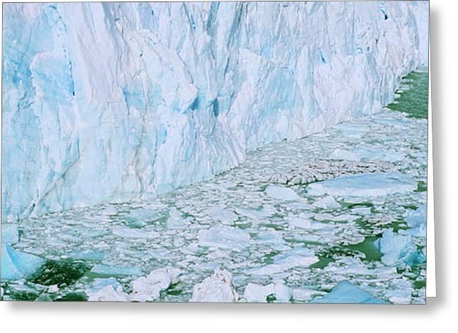 Perito Moreno Glacier In The Los Greeting Card by Martin Zwick