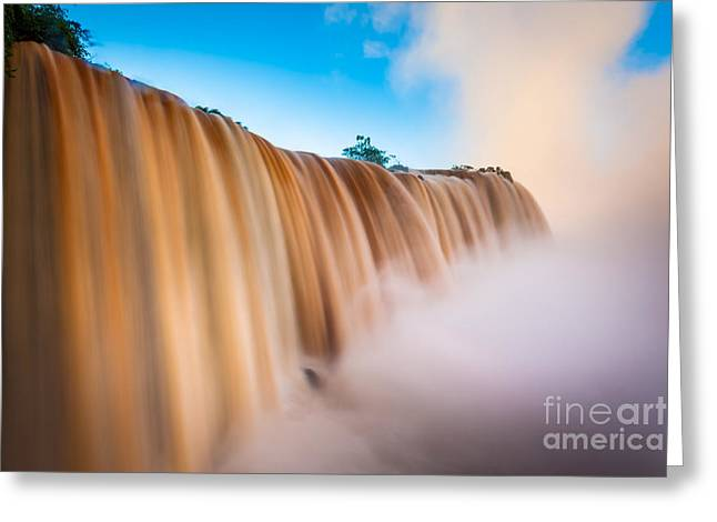 Perpetual Flow Greeting Card by Inge Johnsson