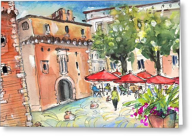 Perpignan 02 Greeting Card by Miki De Goodaboom