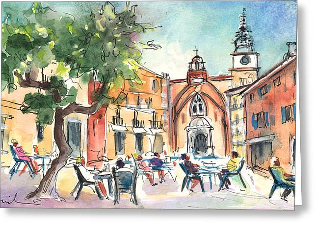 Perpignan 03 Greeting Card by Miki De Goodaboom