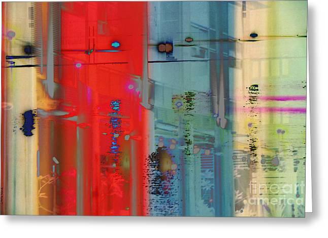 Perplexity-no1 Greeting Card by Darla Wood