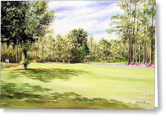Perry Golf Course Florida  Greeting Card by Bill Holkham