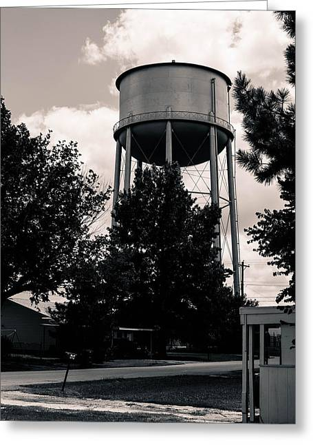 Perry Water Tower  Greeting Card