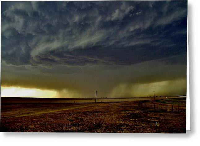 Perryton Supercell Greeting Card