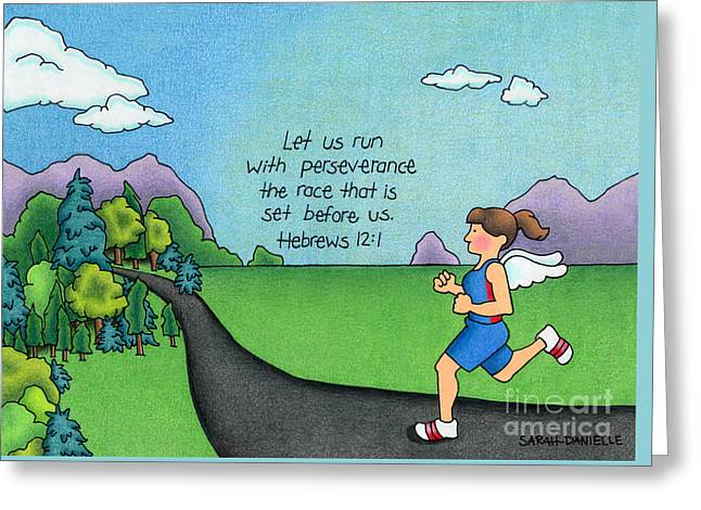 Perseverance Greeting Card by Sarah Batalka