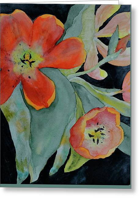Persevere Greeting Card by Beverley Harper Tinsley