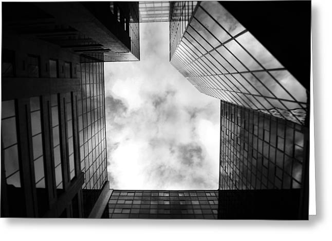 Perspective  Greeting Card by Charlie Gaddy