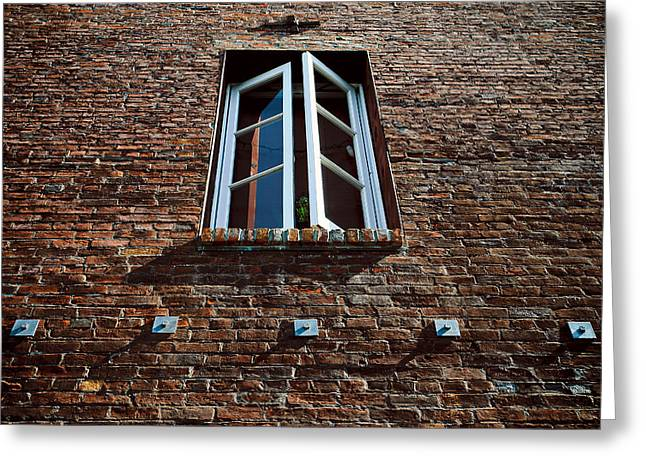 Perspective In Brick Greeting Card