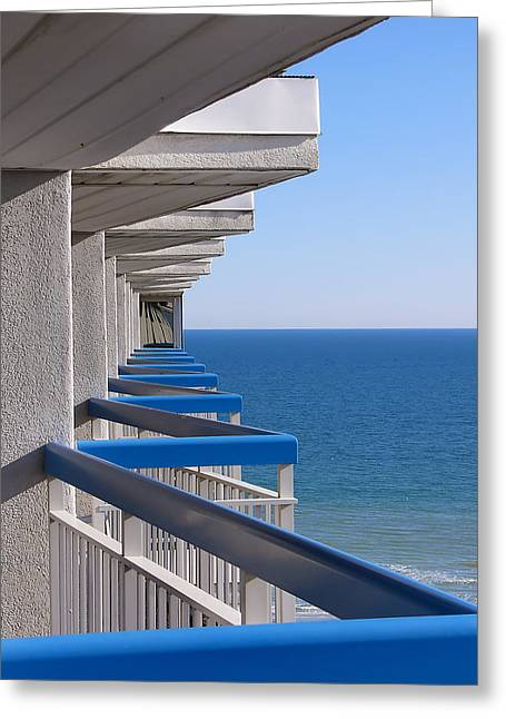 Greeting Card featuring the photograph Perspective. Perception. Life. by Rhonda McDougall