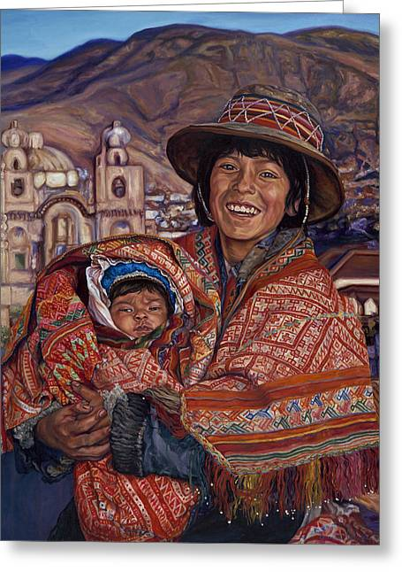 Peruvian Joy Greeting Card