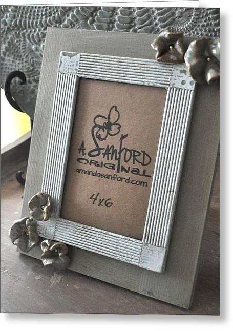 Petal To The Metal Greeting Card by Amanda  Sanford