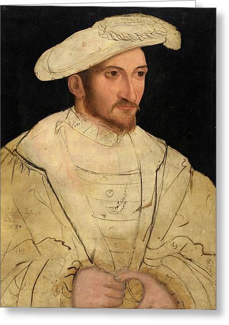 Peter Gertner German, Active 1530-1540 Greeting Card
