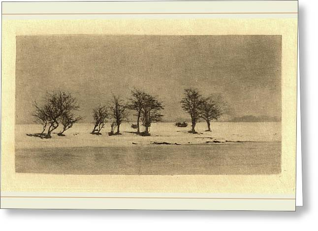 Peter Henry Emerson British, 1856-1936 Greeting Card by Litz Collection