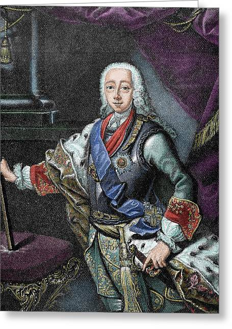 Peter IIi Of Russia (kiel Castle Greeting Card