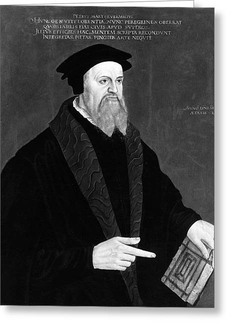 Peter Martyr (1500-1562) Greeting Card by Granger