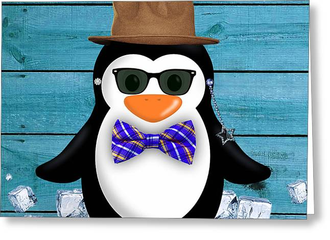 Peter Penguin Collection Greeting Card