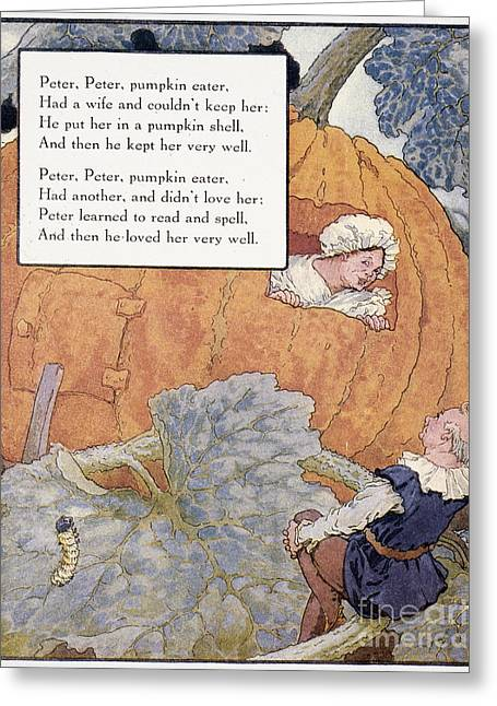 Peter Pumpkin Eater Greeting Card