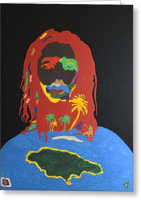 Peter Tosh Bush Doctor Greeting Card
