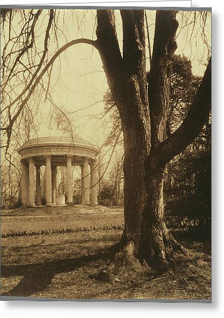 Petit Trianon The Temple Of Love, Petit Trianon Eugène Greeting Card by Litz Collection