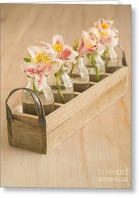Petites Fleurs Greeting Card by Edward Fielding