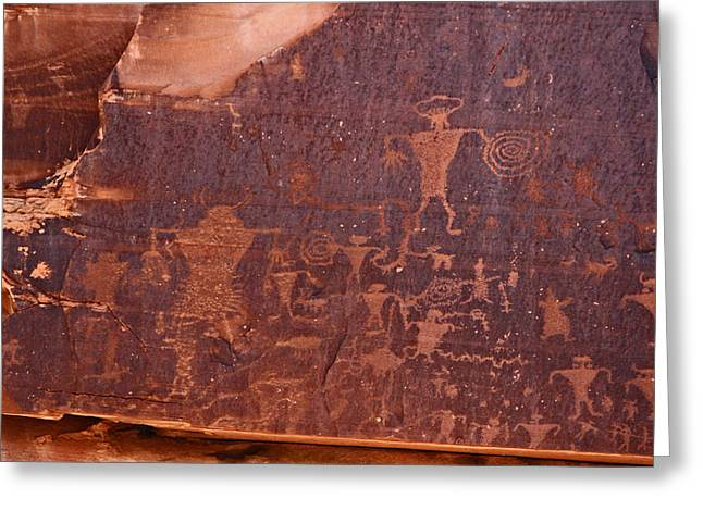 Petroglyph In Utah Greeting Card