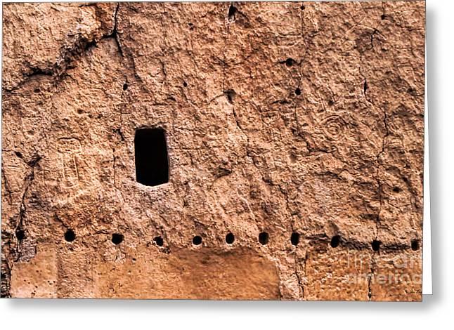 Petroglyphs Greeting Card by Jon Burch Photography