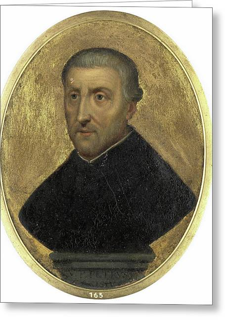 Petrus Canisius, 1521-97, Cleric And Writer In Nijmegen Greeting Card by Litz Collection
