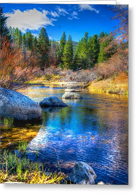 Greeting Card featuring the photograph Pettengill Creek by Kevin Bone
