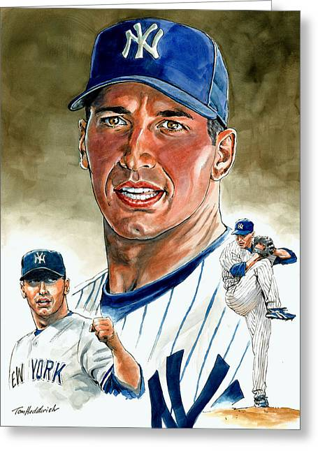 Pettitte Greeting Card