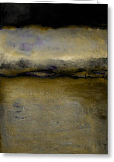 Pewter Skies Greeting Card by Michelle Calkins